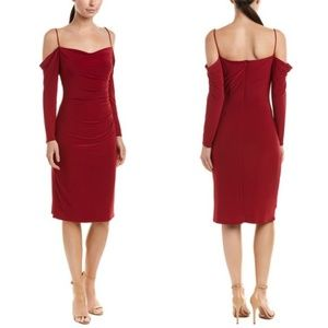 Laundry By Shelli Segal Ruby Cold Shoulder Dress 4